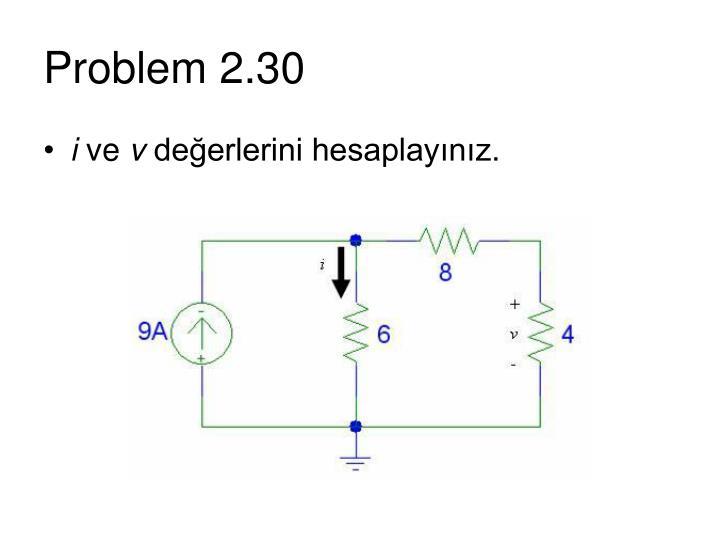 Problem 2.30