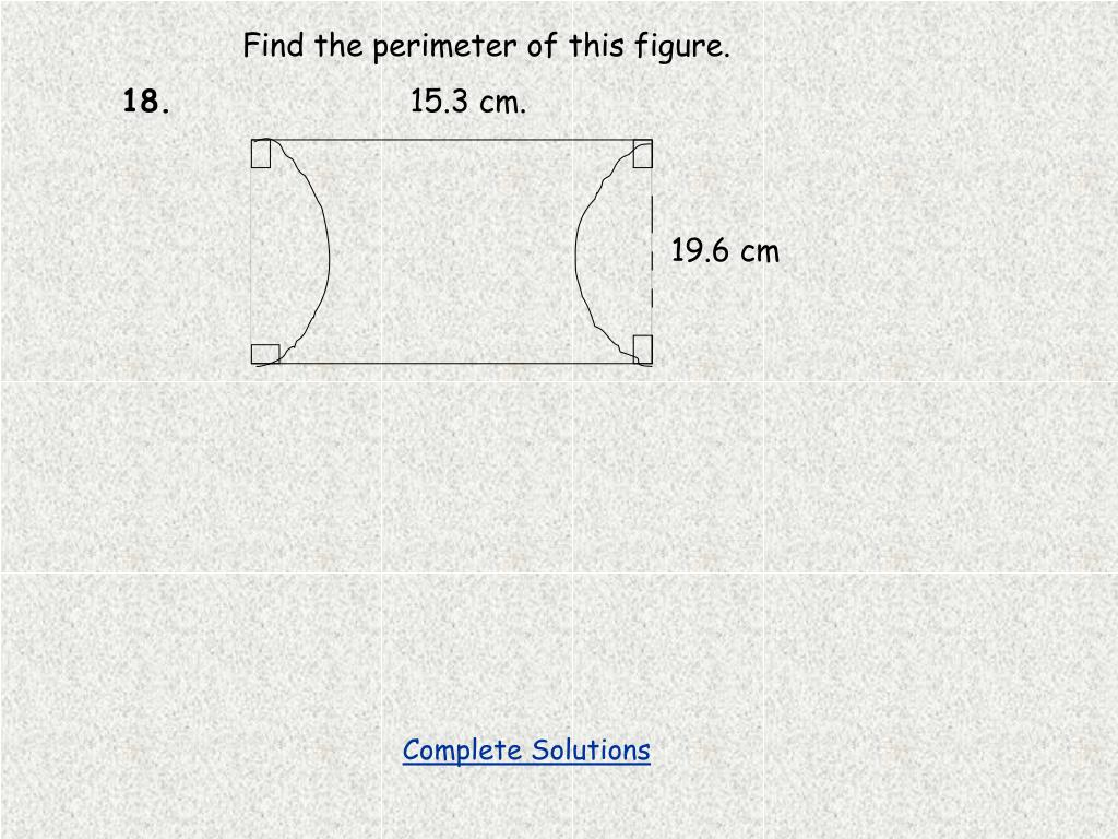 Find the perimeter of this figure.