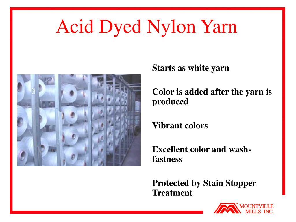 Acid Dyed Nylon Yarn