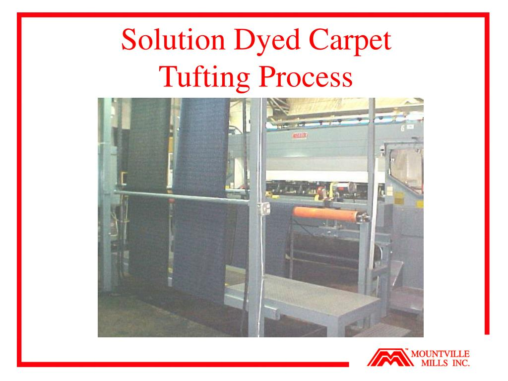 Solution Dyed Carpet
