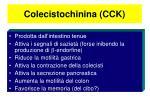 colecistochinina cck