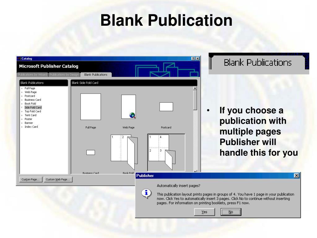 Blank Publication