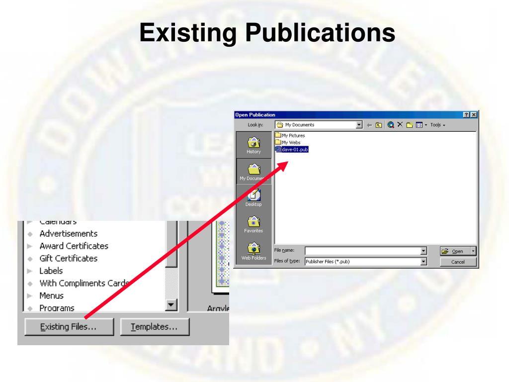 Existing Publications