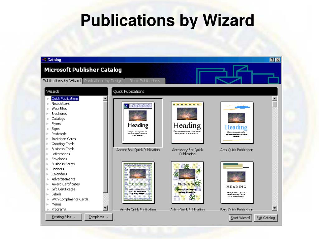 Publications by Wizard