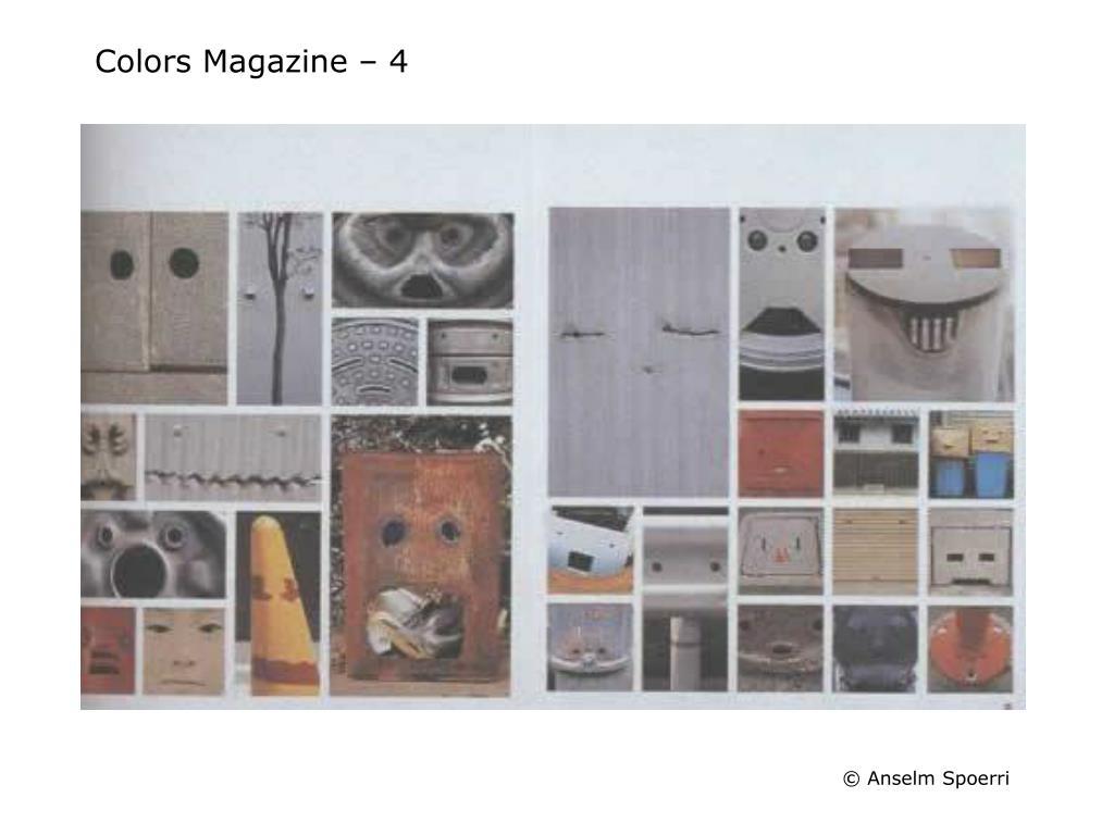 Colors Magazine – 4