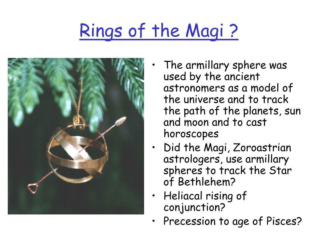 Rings of the Magi ?