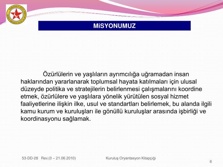 MiSYONUMUZ
