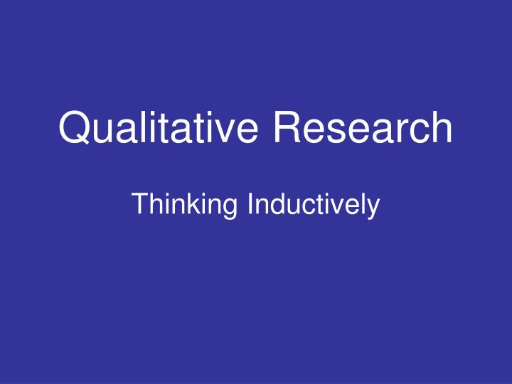 qualitative research journals International journal of education issn 1948-5476 2010, vol 2, no 2: e1 1 wwwmacrothinkorg/ije quantitative and qualitative research: a view for.