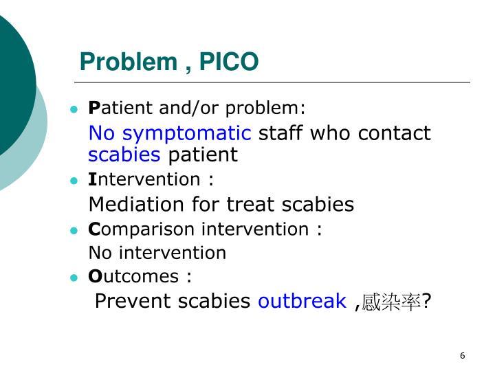 Problem , PICO