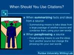 when should you use citations1