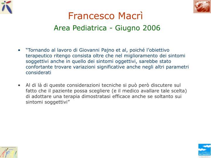 Francesco Macrì