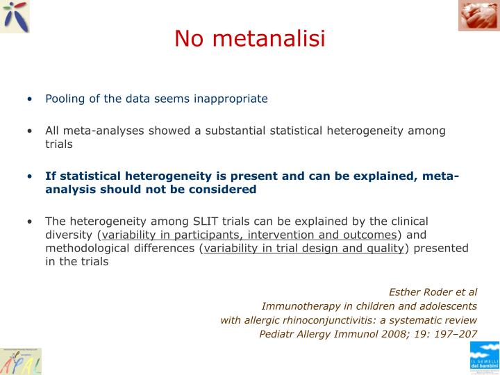 No metanalisi