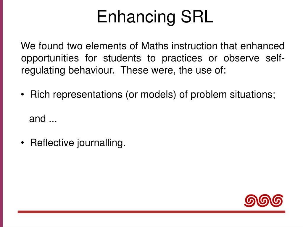 Enhancing SRL