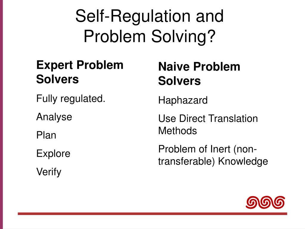 Self-Regulation and