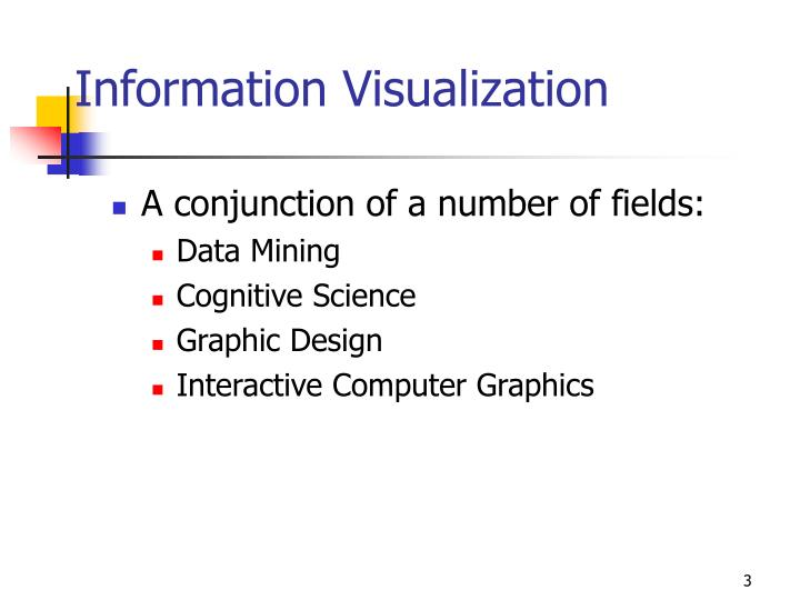 Information visualization3