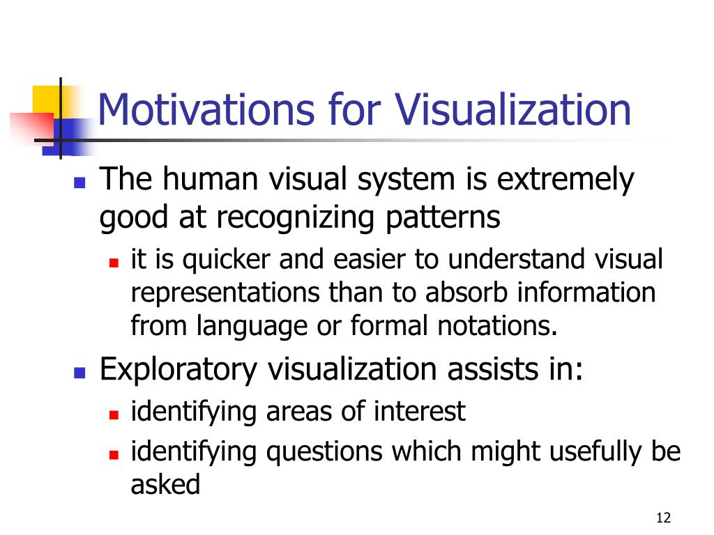 Motivations for Visualization