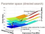parameter space directed search1