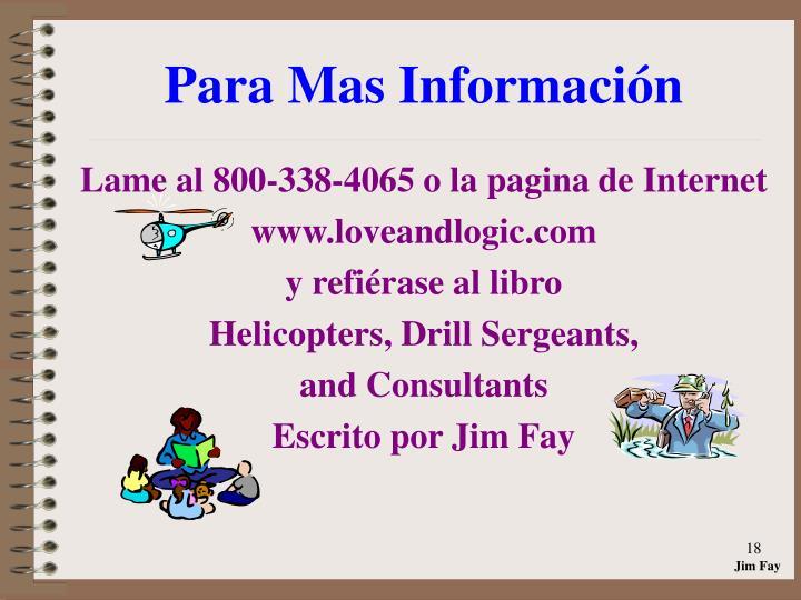 Para Mas Información