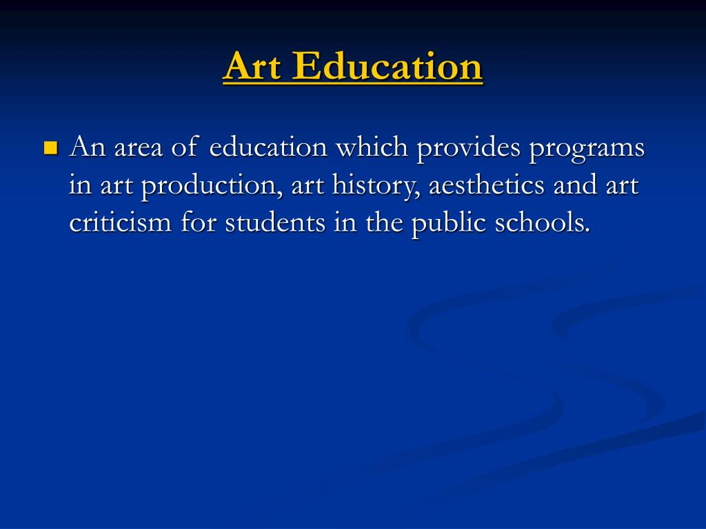 Art Education
