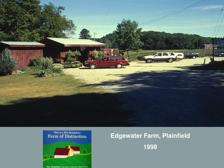 Edgewater Farm, Plainfield