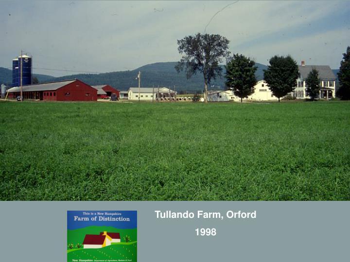 Tullando Farm, Orford