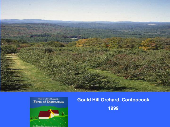 Gould Hill Orchard, Contoocook