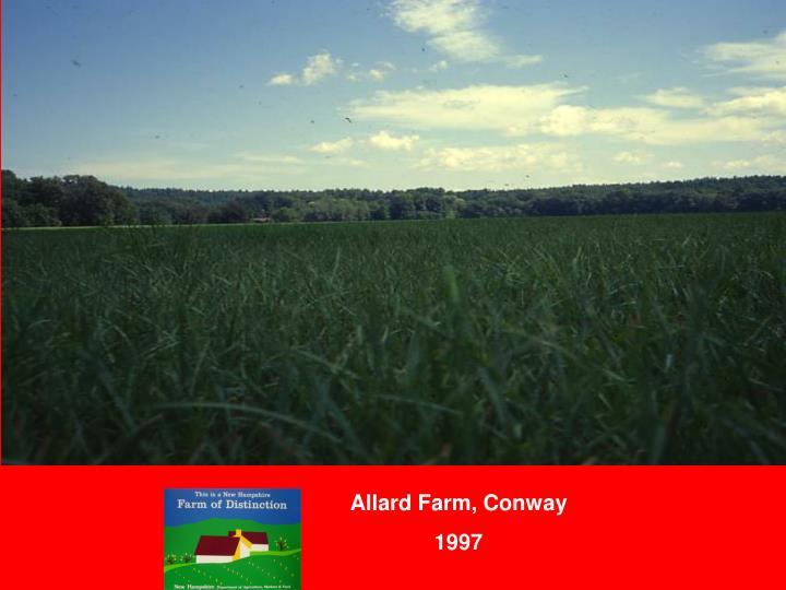 Allard Farm, Conway