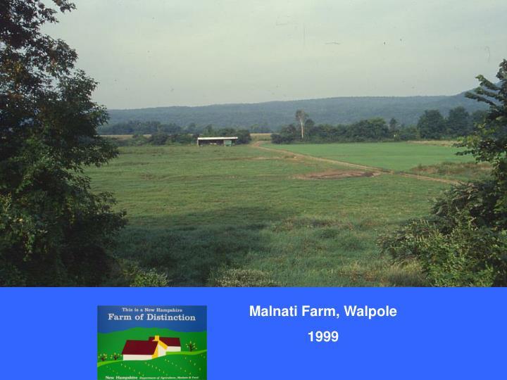 Malnati Farm, Walpole