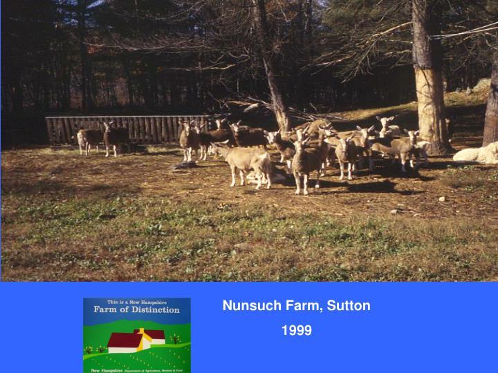 Nunsuch Farm, Sutton