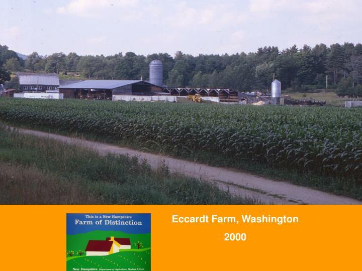 Eccardt Farm, Washington