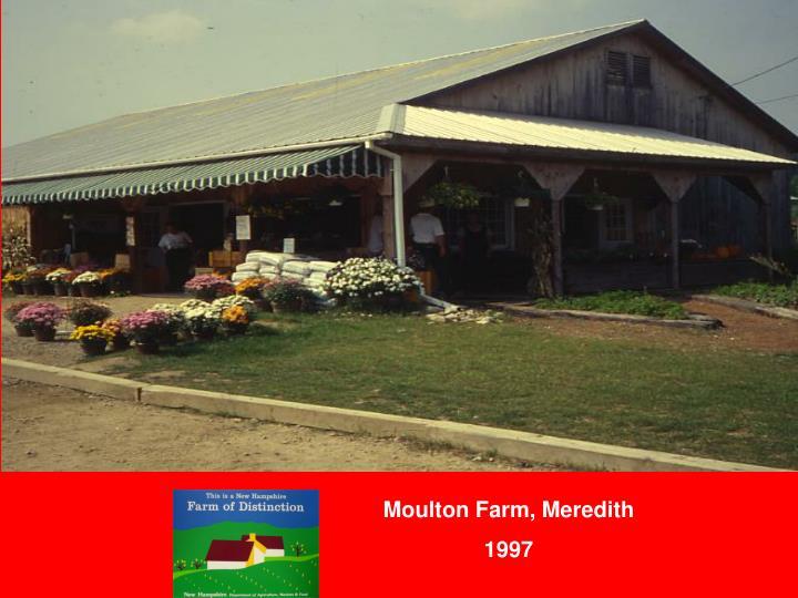 Moulton Farm, Meredith