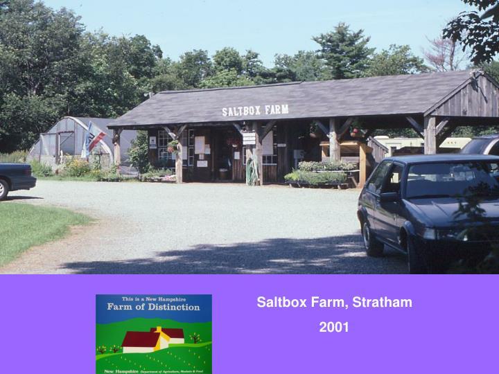 Saltbox Farm, Stratham