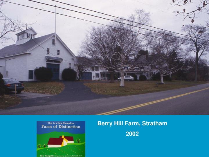 Berry Hill Farm, Stratham