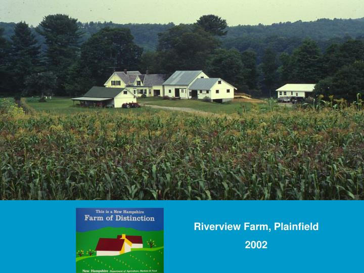 Riverview Farm, Plainfield