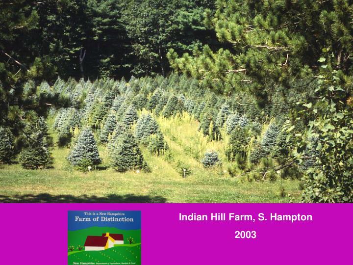 Indian Hill Farm, S. Hampton