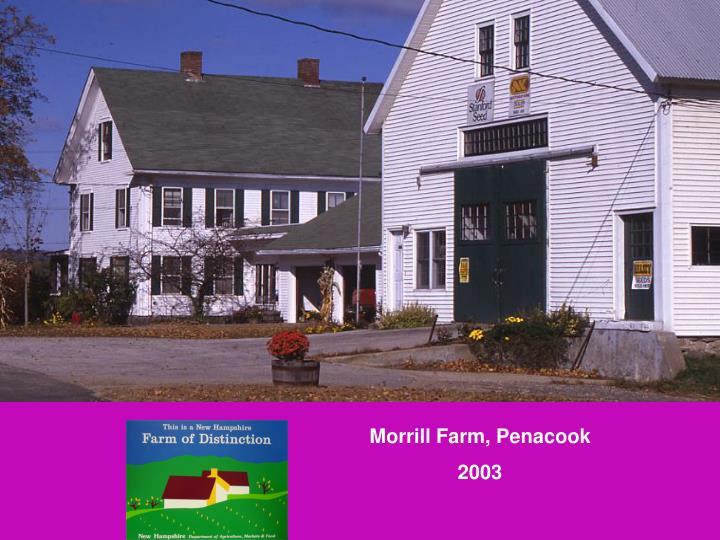 Morrill Farm, Penacook
