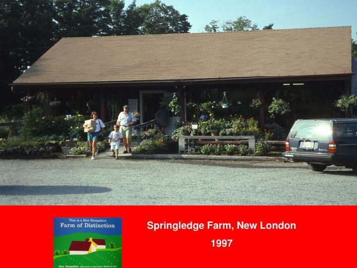 Springledge Farm, New London