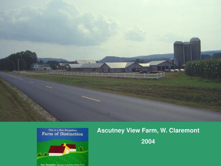 Ascutney View Farm, W. Claremont