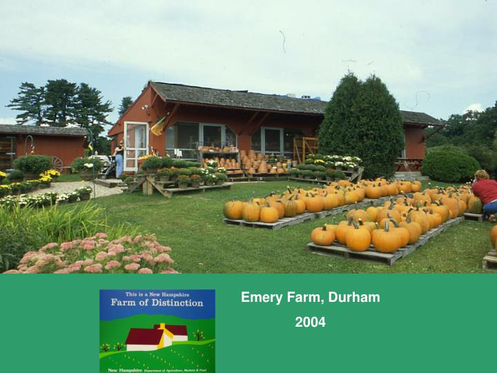 Emery Farm, Durham