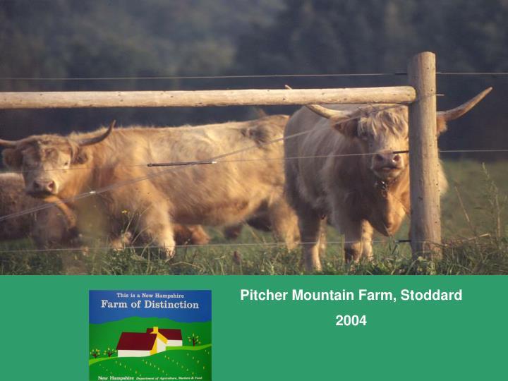 Pitcher Mountain Farm, Stoddard