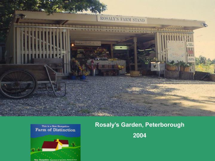 Rosaly's Garden, Peterborough