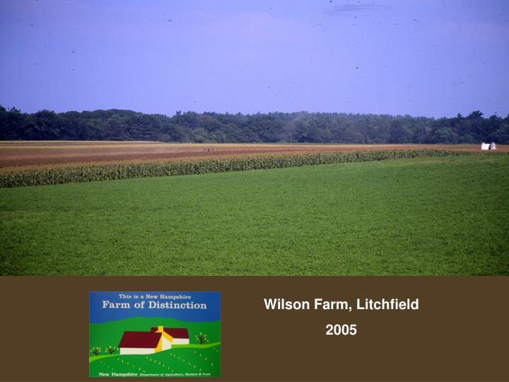 Wilson Farm, Litchfield