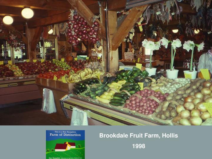Brookdale Fruit Farm, Hollis