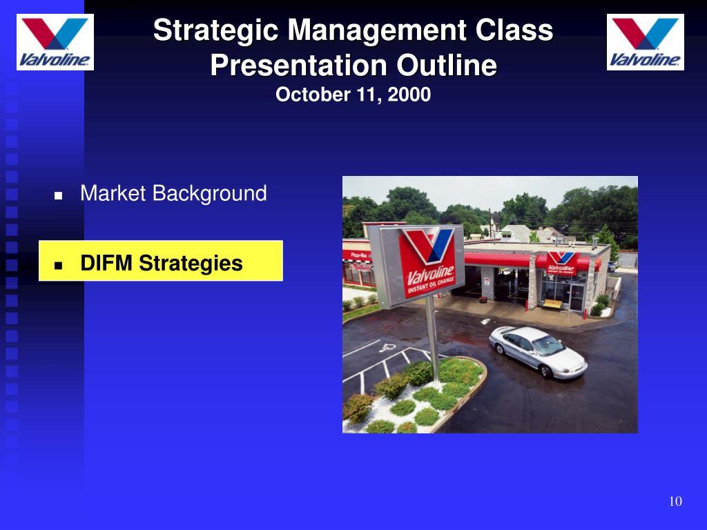 Strategic Management Class