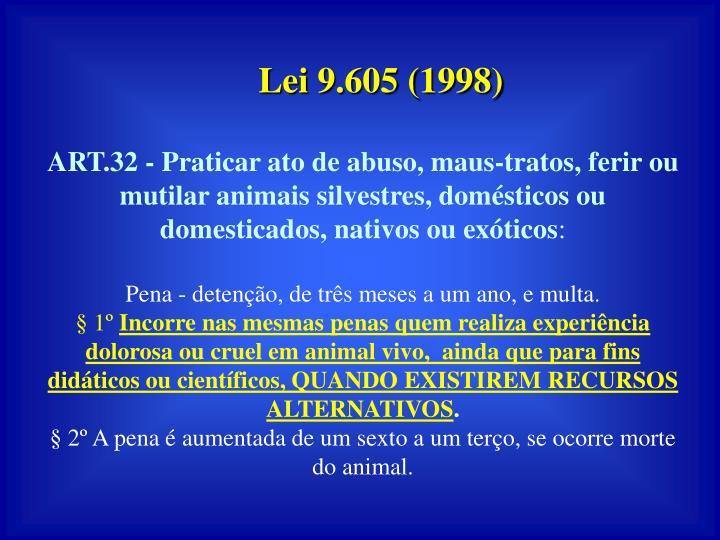 Lei 9.605 (1998)