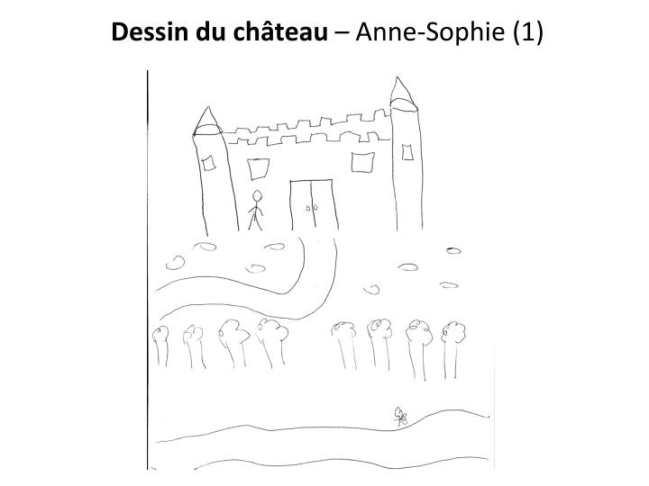Dessin du château