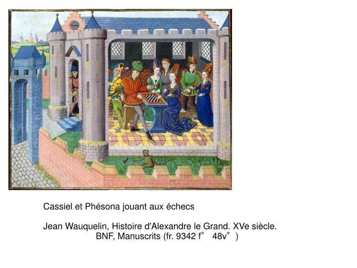Cassiel et Phésona jouant aux échecs