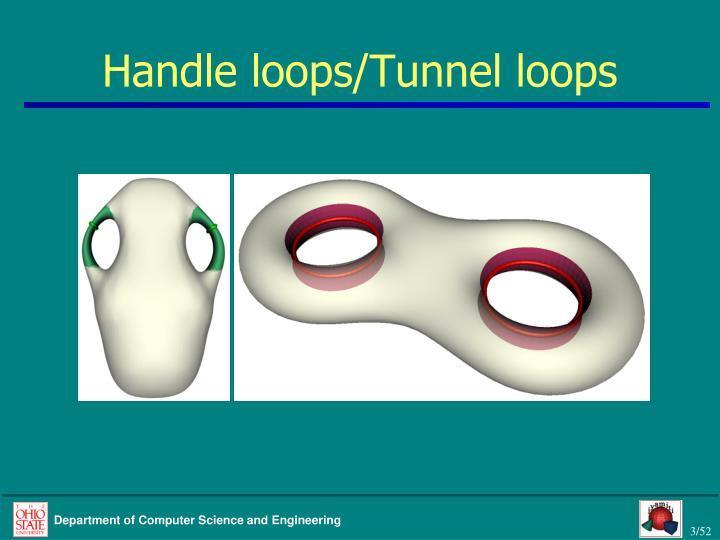 Handle loops/Tunnel loops