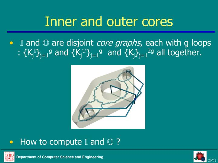 Inner and outer cores