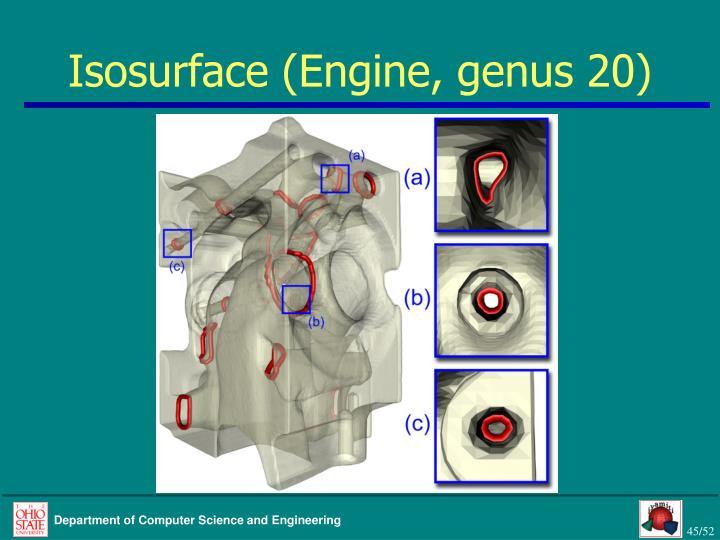 Isosurface (Engine, genus 20)